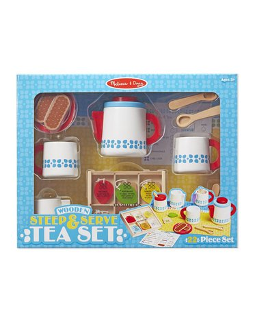 Melissa&Doug® - Melissa, Drewniany zestaw do herbaty