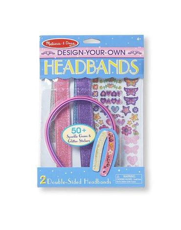 Melissa&Doug® - Melissa, Zestaw do projektowania opasek na włosy