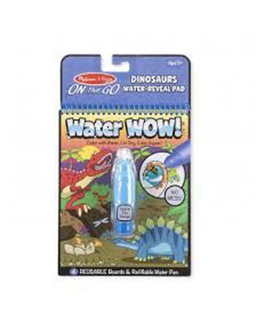 Melissa&Doug® - Melissa, Kolorowanka wodna Water Wow! Dinozaury