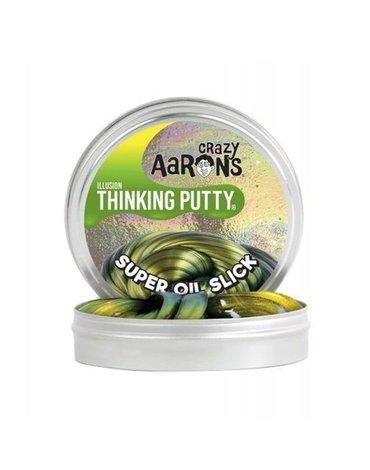 Crazy Aaron, Super Oil Slick, Mieniąca się, Inteligentna plastelina puszka 5 cm. 13 g.