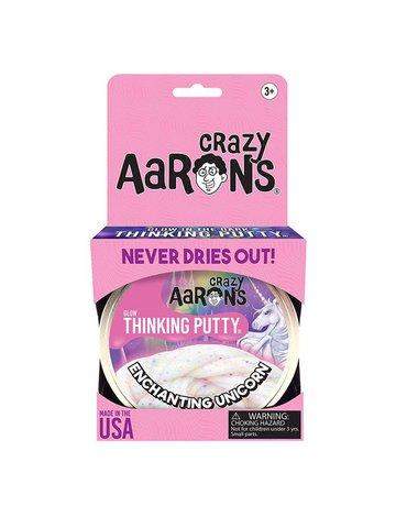 Crazy Aaron, Enchanting Unicorn – jednorożec, Inteligentna plastelina, puszka 10 cm. 90 g.