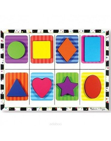 Melissa&Doug® - Melissa and Doug Puzzle Kształty 2+, MD13730