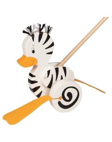 Goki® - Pchacz Zebra-Kaczka, Goki