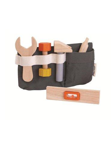 Pas z drewnianymi narzędziami, Plan Toys