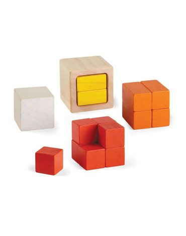 Kostki Ułamki - dopasowanie elementów, Plan Toys