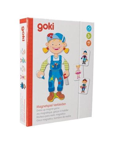 Goki® - Magnetyczna przebieranka Dziewczynka, Goki