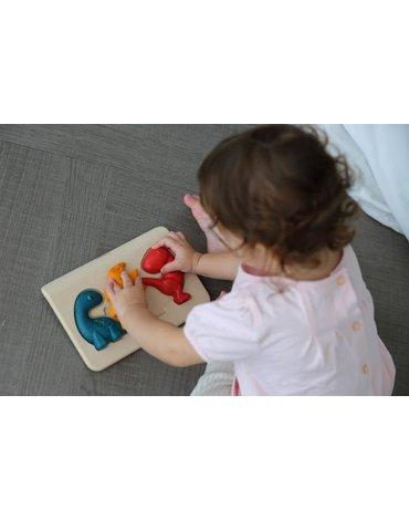 Puzzle dinozaury, Plan Toys