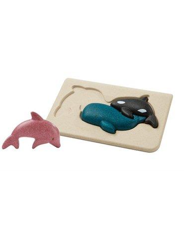 Puzzle zwierzęta morskie, Plan Toys