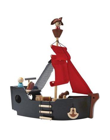 Statek piracki, Plan Toys