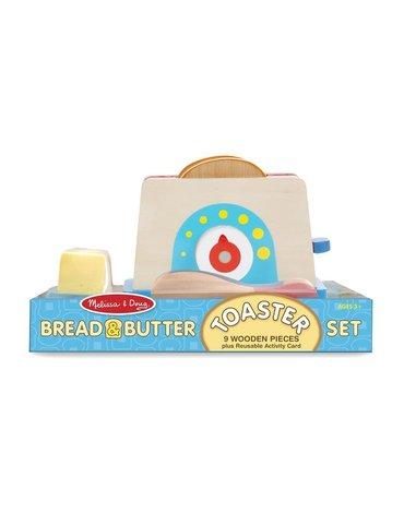 Melissa&Doug® - Drewniany Toster z chlebem i masłem