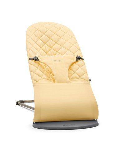 BABYBJORN - leżaczek BLISS COTTON, Jasny żółty