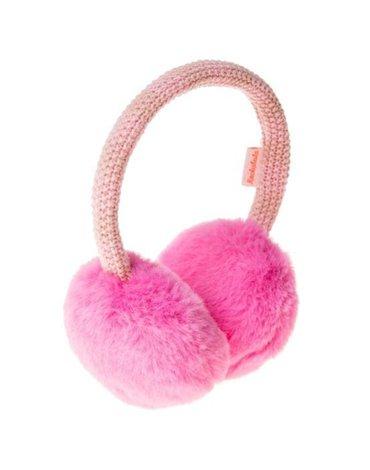 Rockahula Kids - nauszniki Two Tone Knit Candy Pink