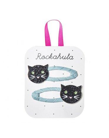 Rockahula Kids - spinki do włosów Black Cats