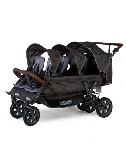 CHILDHOME - Wózek sześcioosobowy New Sixseater Autobrake