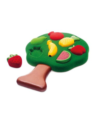 Rubbabu Sorter Puzzle 3D Owoce sensoryczny