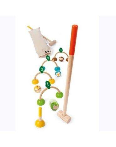Drewniany krokiet (croquet), Plan Toys®