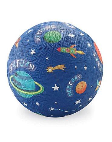 DW HURT - Piłka 7'', 18cm, wzór Układ Słoneczny, Crocodile Creek