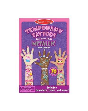 Melissa&Doug® - Melissa Metaliczne Tatuaże, MD12948