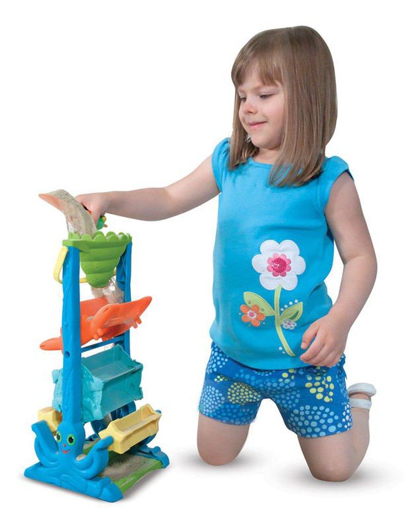 Melissa&Doug® - Kołowrotek - zabawka do kąpieli i do piasku, MD16427