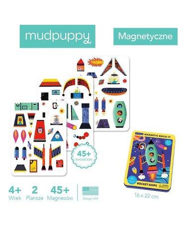 Mudpuppy Magnetyczne konstrukcje Rakiety kosmiczne 4+
