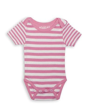 Juddlies Body Sachet Pink Stripe 3-6m