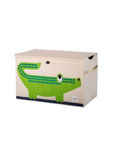 3 Sprouts Pudełko Zamykane Krokodyl 3STCCR