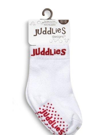 Juddlies Skarpetki White/Red 12-24 m