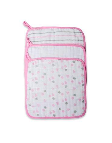 Lulujo Myjka Bawełniana 3szt Pink