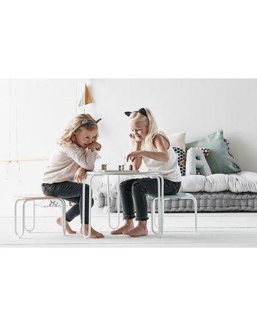 Kids Concept Stolik Okrągły Linus Grey