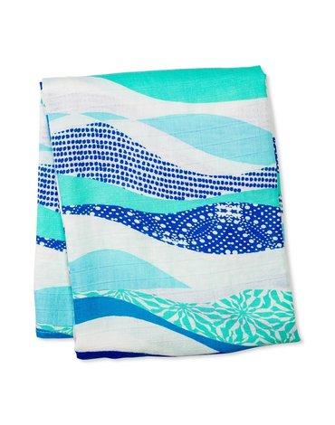 Lulujo Kocyk Bambusowy Waves