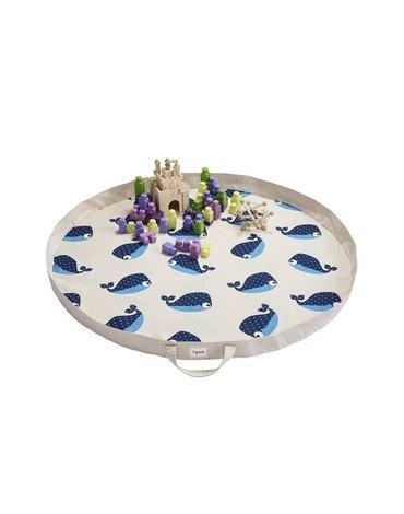 3 Sprouts Mata na Zabawki Wieloryb Niebies