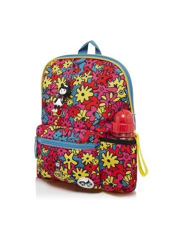 Zip & Zoe Plecak Midi Floral Brights 3+