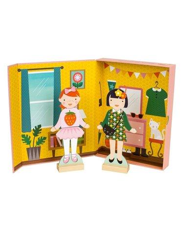 Petit Collage Magnetyczne Ubieranki Girls