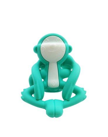 Mombella Gryzak Zabawka Małpka Blue