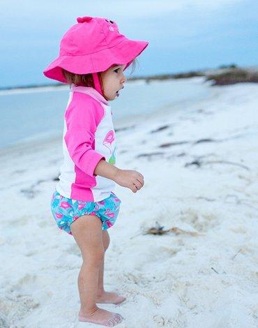 Zoocchini Koszulka Kąpielowa UV Flaming S