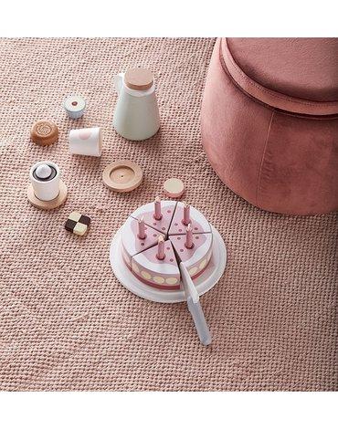Kids Concept Bistro Tort Urodzinowy Pink