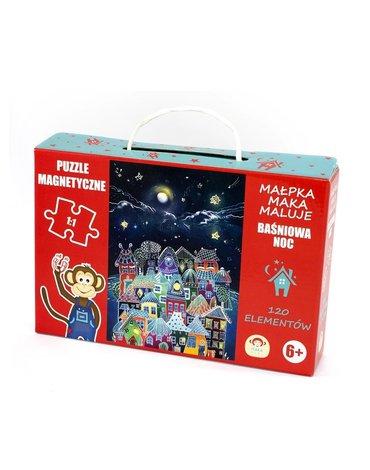 Maka Kids - Puzzle Magnetyczne Baśniowa Noc