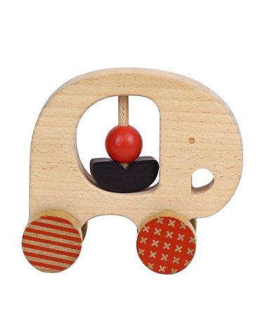 Petit Collage Zabawka Drewniana Słoń