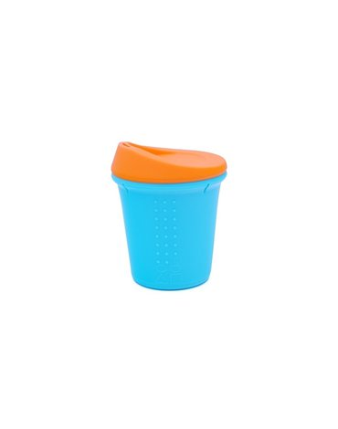 Silikids Kubek Silikonowy Aqua/Orange
