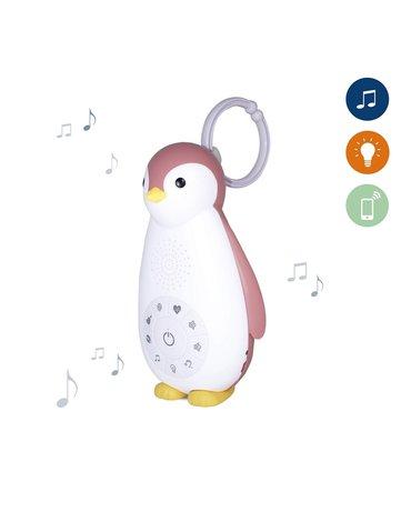 Zazu Kids - Zazu ZOE Usypianka Bluetooth Pingwin Pink