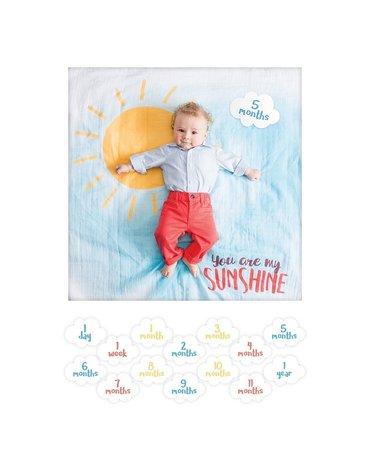 Lulujo Zestaw Kocyk + Karty My Sunshine
