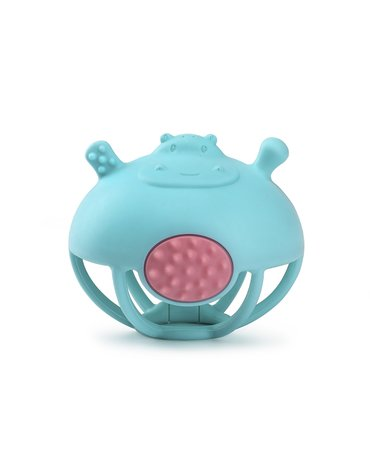 Smily Mia Gryzak Zabawka Hipopotam Blue