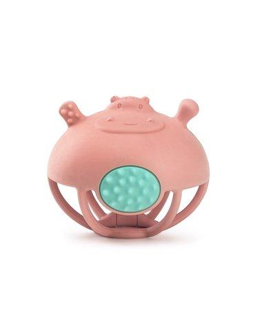 Smily Mia Gryzak Zabawka Hipopotam Pink
