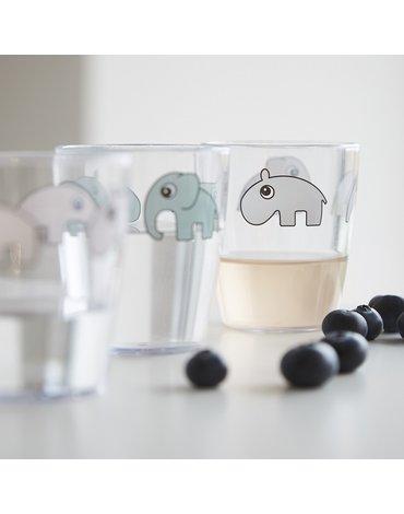 Done by Deer Yummy Kubek Mini Glass Grey