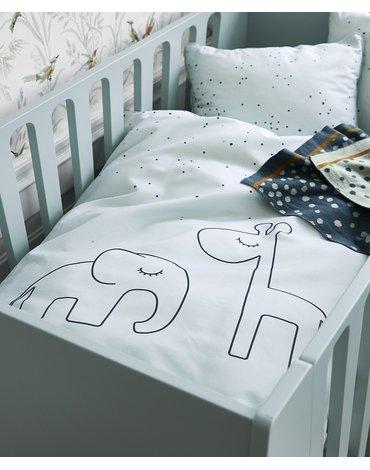Done by Deer Dots Pościel Dziecięca Blue