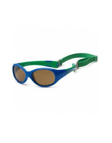 KOOLSUN Okulary FLEX Royal Green 3-6 lat