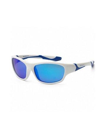 KOOLSUN Okulary SPORT White Royal Blue 3-8