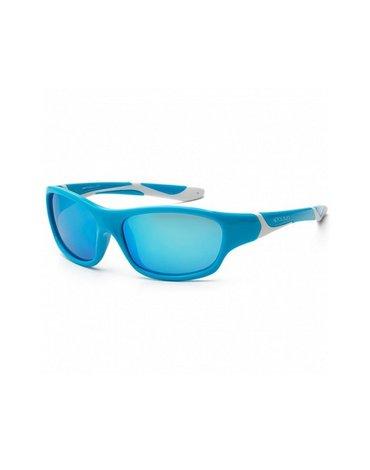 KOOLSUN Okulary SPORT Aqua White 6-12 lat