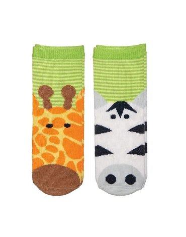 FlapJack Skarpetki Żyrafa/Zebra L 1-3 lat