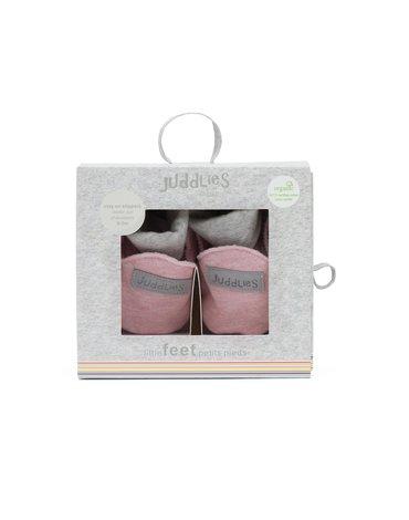 Juddlies Organic Buciki Niemowlęce Pink